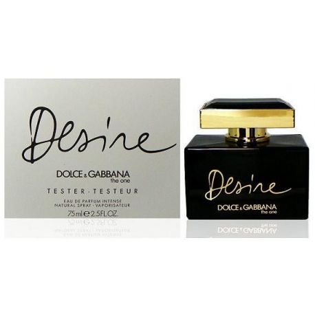 Dolce&Gabbana The One Desire moteriški kvepalai, 75ml, EDP, TESTERIS