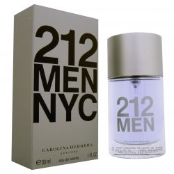 Carolina Herrera 212 MEN NYC vyriški kvepalai, 30ml, EDT